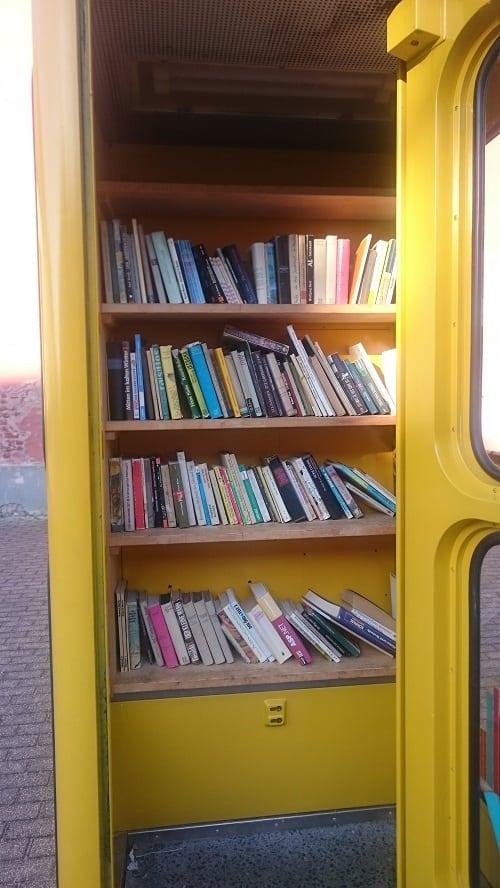 DIY book exchange in Germany