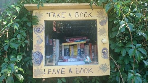 Book exchange box