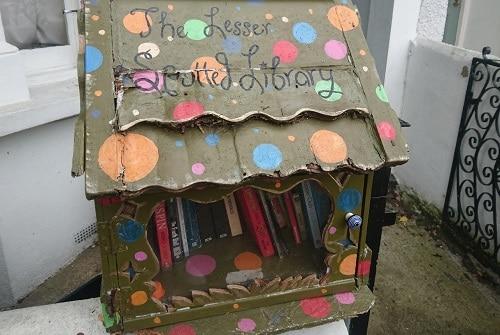 DIY book exchange